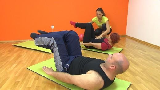 pilates vadba za nekadilce