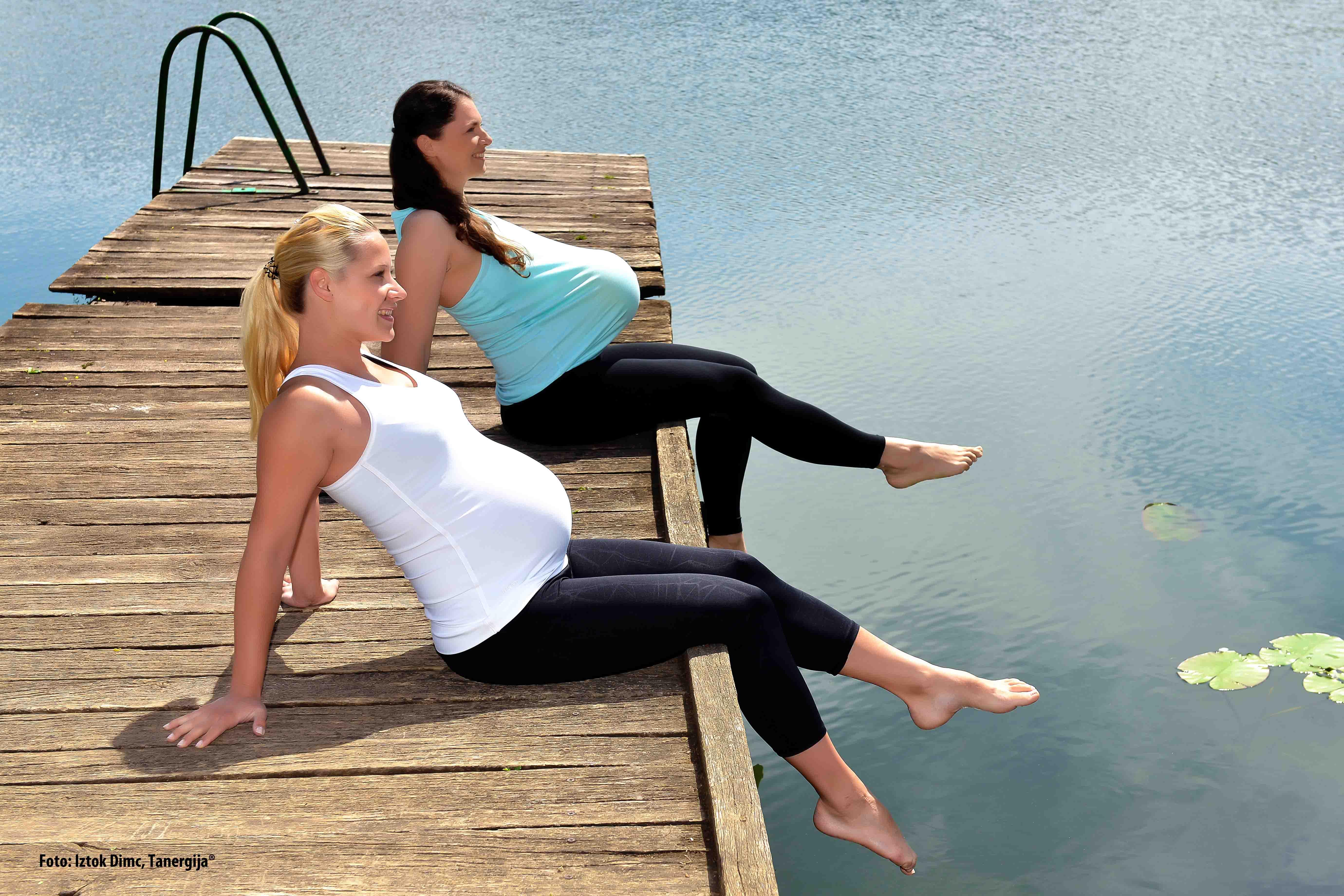 pilates vadba za nosečnice 2