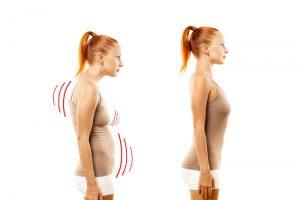 dobra telesna drža in pilates vadba